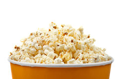 Popcorn in a bucket Royalty Free Stock Image