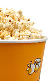 Popcorn in a bucket Stock Image