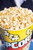 Popcorn Bucket At Cinema Stock Image