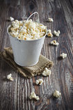 Popcorn in a bucket Stock Photos