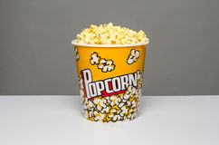 Popcorn bucket Stock Image