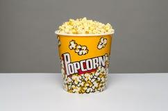 Popcorn bucket. Image of a bucket of popcorn Stock Image