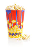 Popcorn bucket Royalty Free Stock Photography