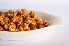 Popcorn caramel taste Stock Image