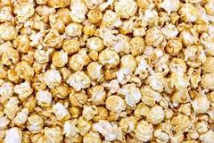 Popcorn caramel texture Royalty Free Stock Photography