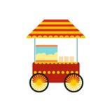 Popcorn cart icon Royalty Free Stock Photo