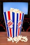 Popcorn at the cinema Royalty Free Stock Photography