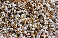 Popcorn close-up Stock Image