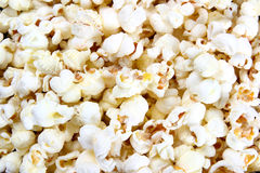 Popcorn close-up Stock Images