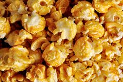 Popcorn close up for background Stock Photography