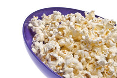 Popcorn Close Up Border Image Royalty Free Stock Photography