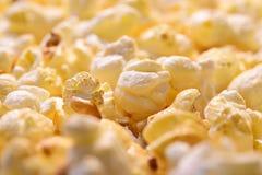 Popcorn close-up Stock Images