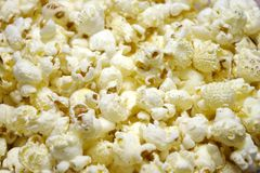 Popcorn Closeup Royalty Free Stock Photo