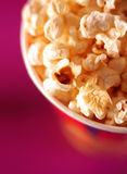 Popcorn closeup Stock Photos