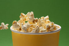 Popcorn closeup Stock Photography