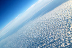 Popcorn Cloud Skyscape Stock Images