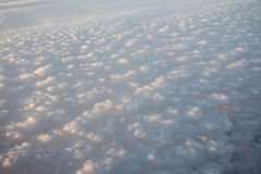 Popcorn Clouds Royalty Free Stock Images