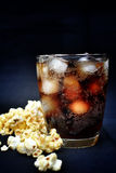 Popcorn and cola Stock Photo
