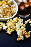 Popcorn and cola Stock Photography