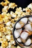Popcorn and cola Stock Photo