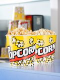 Popcorn On Concession Counter Royalty Free Stock Photography