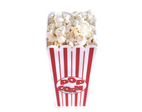 Popcorn in Container Royalty Free Stock Photos