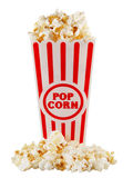 Popcorn container Royalty Free Stock Images