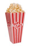 Popcorn in container Royalty Free Stock Images