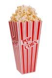 Popcorn in container Royalty-vrije Stock Afbeeldingen