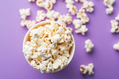 Popcorn in cup. Stock Image