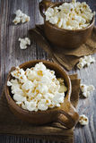 Popcorn in cups Stock Images