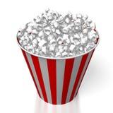 popcorn 3d Royaltyfri Bild