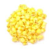 Popcorn del burro immagini stock