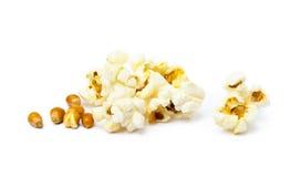 Popcorn del formaggio isolato fotografie stock
