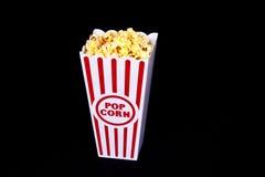 Popcorn del teatro per uno Immagine Stock