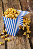 Popcorn. Delicious popcorn on the table Royalty Free Stock Image