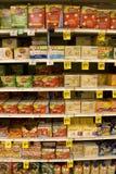 Popcorn in deposito Fotografia Stock Libera da Diritti