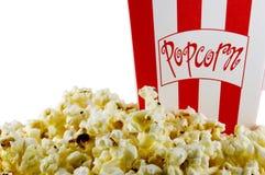 Popcorn di film Fotografie Stock Libere da Diritti