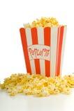 Popcorn di film Immagine Stock