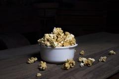 Popcorn dolce Fotografia Stock