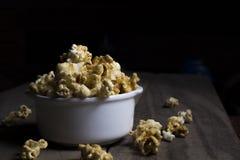 Popcorn dolce Fotografia Stock Libera da Diritti