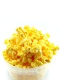 Popcorn in doos Stock Fotografie