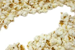 Popcorn-Ecken Lizenzfreies Stockbild
