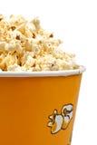 Popcorn in een emmer Stock Afbeelding