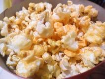 Popcorn in een emmer Royalty-vrije Stock Fotografie