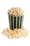 Popcorn in een mok Royalty-vrije Stock Foto's