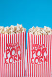 Popcorn får ditt popcorn Arkivbild