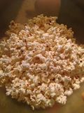 Popcorn für den Weltcup-Schluss Lizenzfreies Stockbild