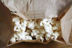 Popcorn für Mikrowelle Stockbild