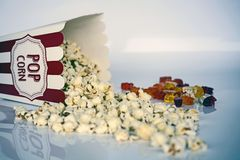 Popcorn, Flavor Royalty Free Stock Photography